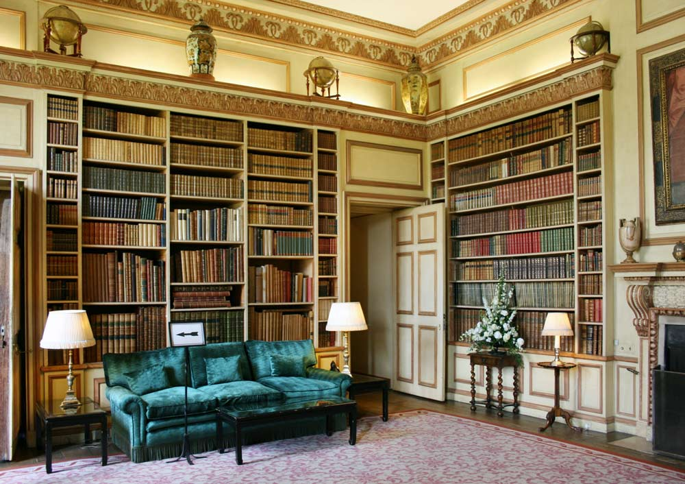 library of Leeds castle