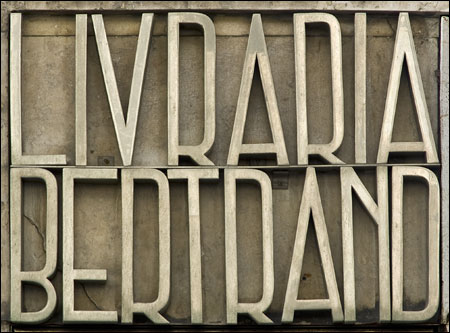 Livraria Bertrand in Lisbon, Portugal