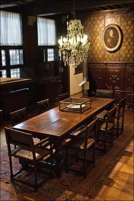 One of the smaller dining rooms