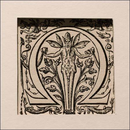 Illustration for the 'Omega' symbol