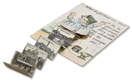 A picture book for Gent, on display at Het Huis van Alijn, a history museum in Ghent, Belgium