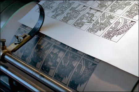 Printing press and sheet