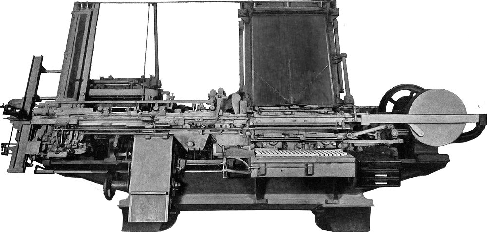 Paige compositor - early typesetting machine