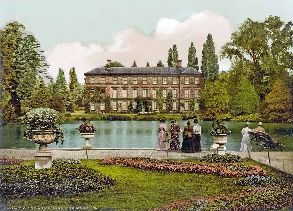 Old postcard of Kew Gardens