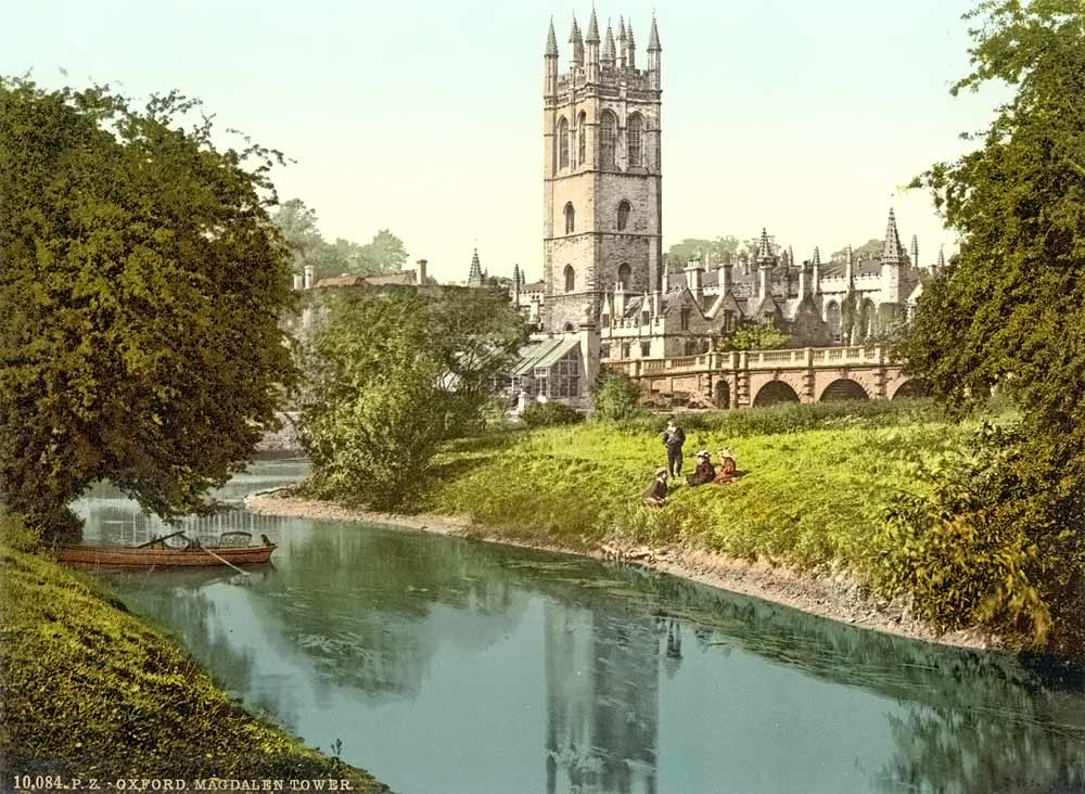 Old postcard of Oxford