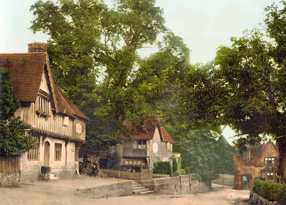 Old postcard of Tunbridge Wells