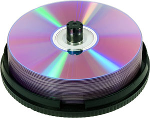 Archiving customer files on disk for reprints and safekeeping