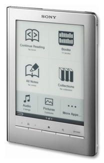 Sony e-reader Touch Edition