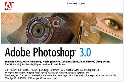 Adobe Photoshop 3