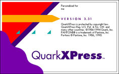 Quark XPress 3.31