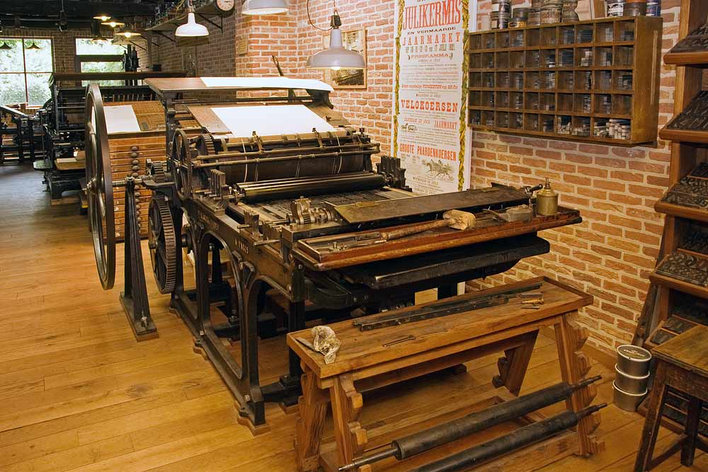 Alauzet & Tiquet cilinder press