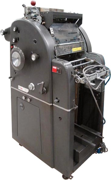 A.B. Dick 350 small offset press