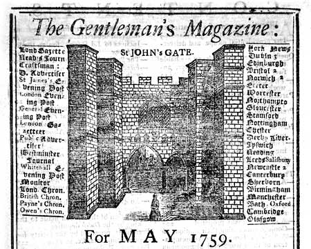 The first general interest magazine