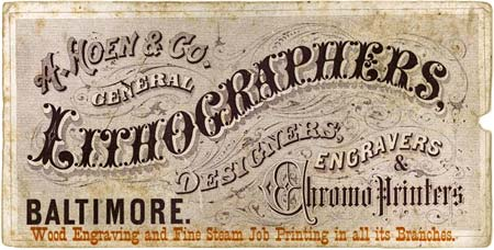 A. Hoen & Co - Lithographers and Chromo Printers