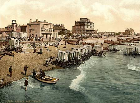 Historical photograph of East Parade in Bognor