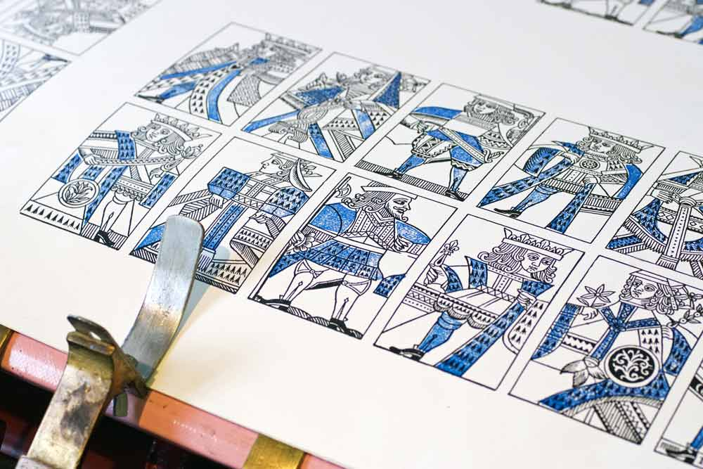 printing press and a press sheet