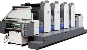 4 color Ryobi press