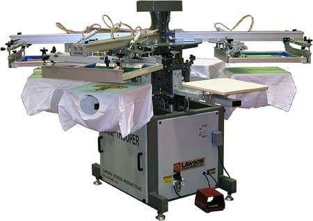 Press that is used to print t-shirts