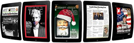Using the Woodwing editor system to create iPad magazines