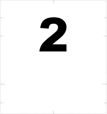 superscript two