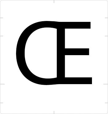 uppercase oe ligature