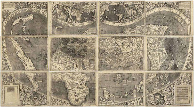 Waldseemuller map