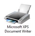 Windows 7 XPS printer icon